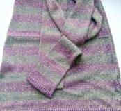 Модное женское платье с шарфиком р-р 42-44