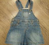 Сарафан джинсовый H&M в идеале
