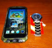 Guo Phone V9 plus + часы противоударный смартфон