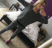 Кофта свитер FILA