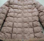 Куртка нежно розовая