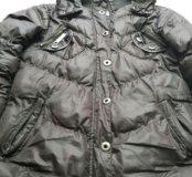 Куртка шоколадного цвета