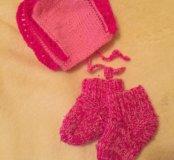 Шапочка и носочки