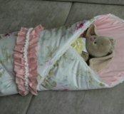 Одеяло конверт детское