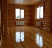 Шлифовка,конопатка,обработка деревянных домов