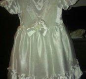 Платье на девочку, до 3х лет