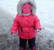 Зимний костюм д/девочки