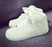 Nike Air Force Зимние кроссовки
