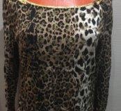 Леопардовая блузка Apart