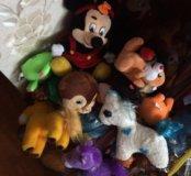Мешок мягких игрушек