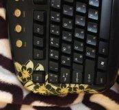 Клавиатура с мышкой , для компьютера