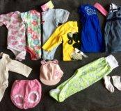Пакет вещей на девочку р-р 56-68