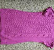 Платье вязаное s-m