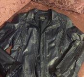 Кожанная куртка Р.40