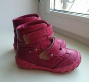 Ботинки Тотто,25 раз-р,кожа
