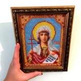 Святая Татьяна икона из бисера