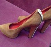 Medea замшевые туфли