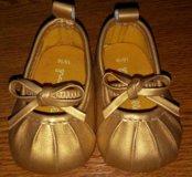 Детсая обувь пинетки балетки