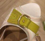 Натур кожа туфли новые