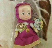 Озвученная кукла мягконабивная.