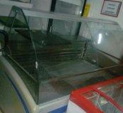 Витрины морозильные и холодильные б/у