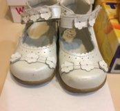 Обувь на девочку 20 размер