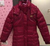 Куртка на девочку 8-9лет 128-140см