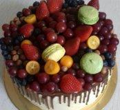 Изготовлю для вас чудесные фруктовые тортики!!!