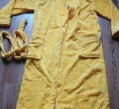 Плюшевый халат 48-50 размер