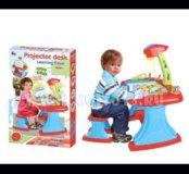 Стол проектор, развивающие игрушки