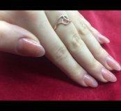 Наращивания ногтей +покрытия гель лака