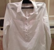 Рубашка хлопок белая