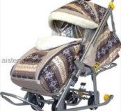 Санки-коляска скандинавия -1