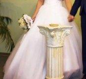 Свадебное платье размер42-44(s)