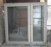 Окна с пластиковые с новостройки 156х158 см
