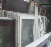 Окна пластиковые с новостройки 156х74,80,и 87 си