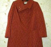 Пальто куртка р.58 весна-осень