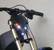 Мощный электро байк GROSS XL 72V 5000W