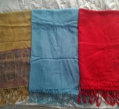 Палантины, шарфы, пашмина новые