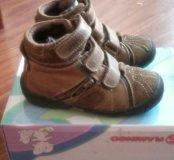 Осенние ботинки орсетто