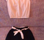 Комплект шорты блузка