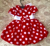 Новое платье 1-2,5лет