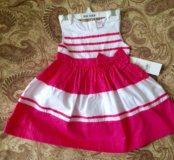 Новое платье 6-12 мес