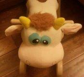 Детская качалка коровка