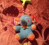 Игрушка-подвеска Tiny Love «Слоненок Элл»Как новый