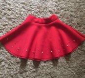 Очень пышная красивая юбка