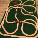 Железная дорога, состоит из двух панелей