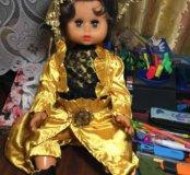Кукла 55 см в золотом Испания 1970-е гг