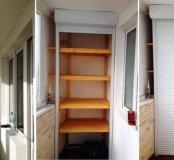 Шкафы на балкон и откидные столы