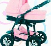 2 в 1 bebetto детская модульная коляска